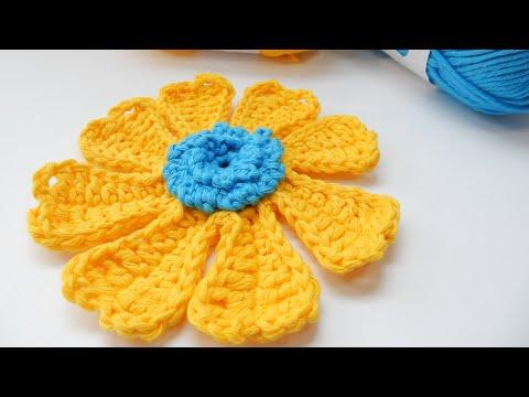 How to Crochet my Flower Power Bloom