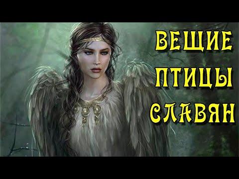 Птицы Славянских Мифов (Сирин, Алконост, Гамаюн, Стратим, Жар-Птица)