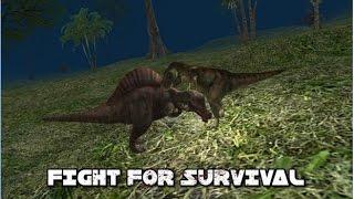 T-Rex Simulator Android/IOS game play (Big Boss Fun)