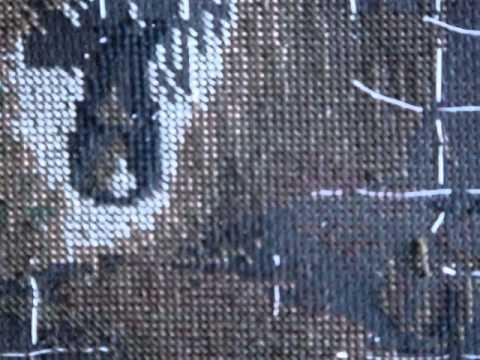 вышивка крестом георгины схемы