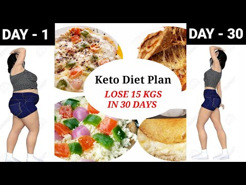 Indian Keto Diet Plan | LOSE 15 KGS IN 30 DAYS | How to lose weight fast with keto diet
