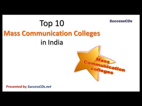 Top 10 Mass Communication Colleges In India