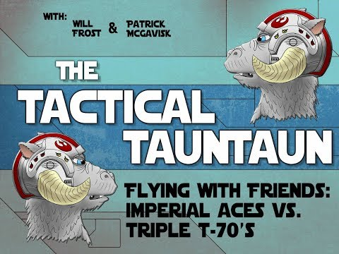 Flying with Friends: Imperial Aces VS Trip T-70's