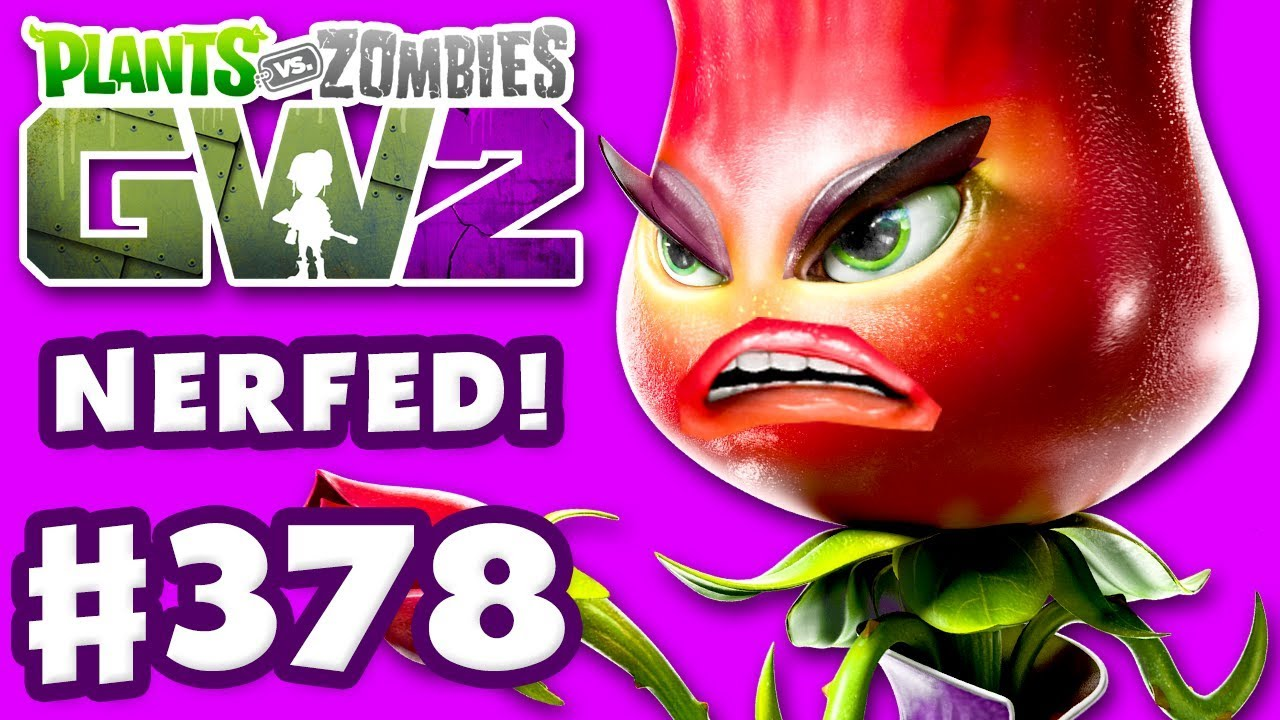 Rose Nerfed Tuning Update Plants Vs Zombies Garden Warfare 2 Play Part 378 Pc