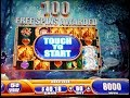 Jackpot! Mystical Unicorn Slot Machine Rare 100 Free Spin Bonus $4 Bet!