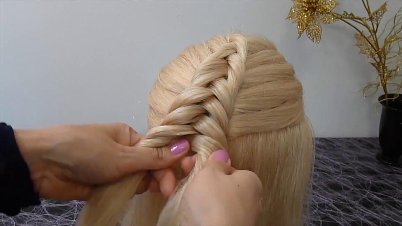 Прически для девочки в школу на длинные волосы