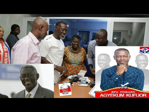 Breaking News:J.A Kufuor Son & Agyarko's Wife Vetted by NPP, EC Confirmed...