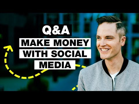How to Start Making Money with Social Media Q&A with Sean Cannell