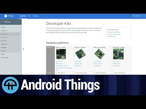 Hands-on with Android Things