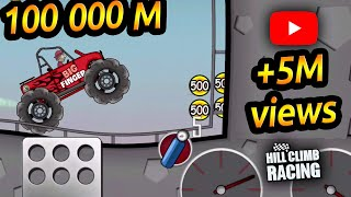 Hill Climb Racing - Is There An End To A Map 100 000 Meters ??