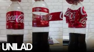 Coca Cola Bottle Magic Trick