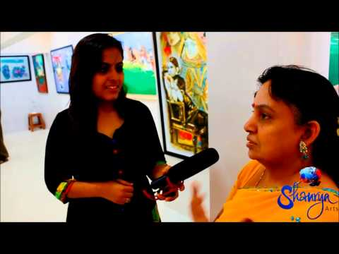 Shaurya Art - interview with Gallery Visitors