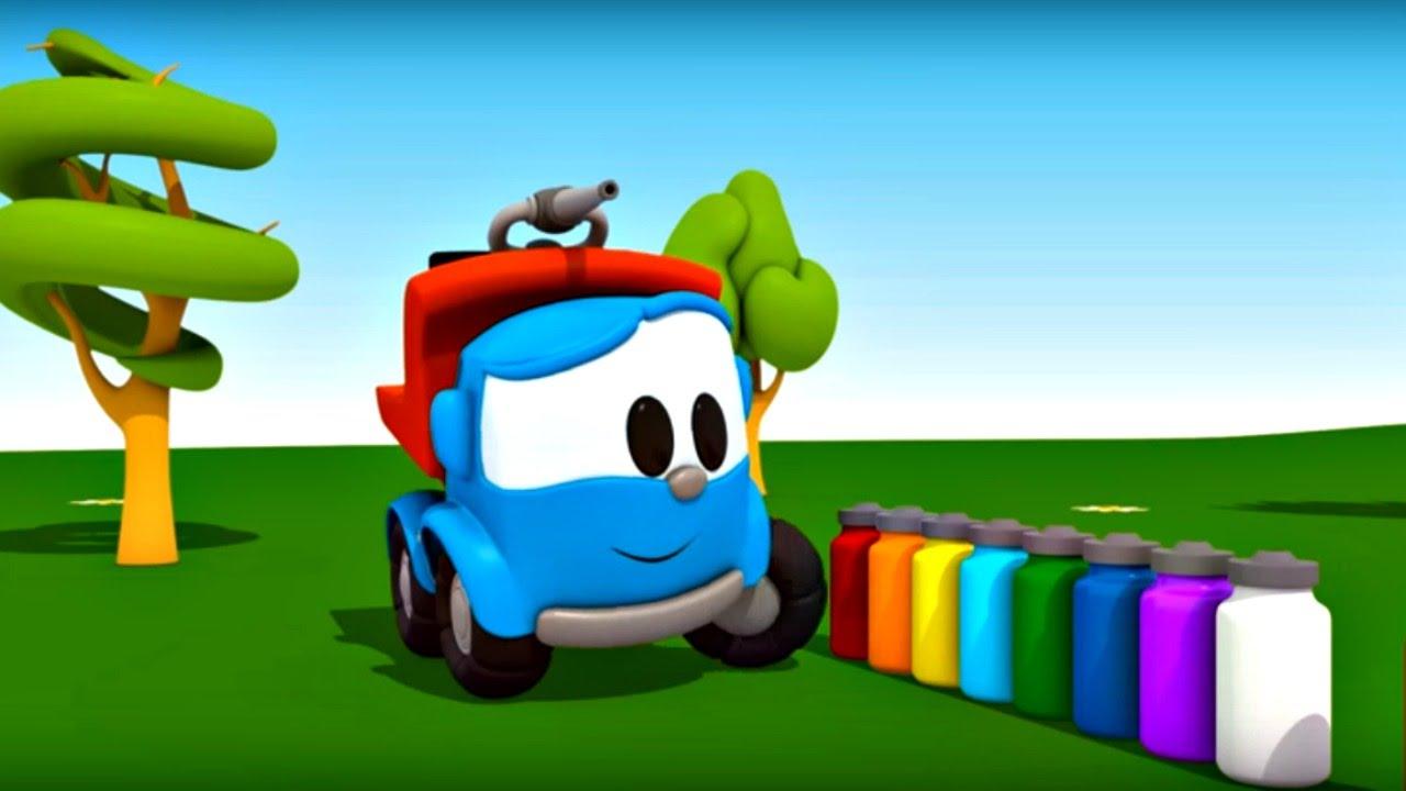 Leo Junior Bize Renkleri öğretiyor Itfaiye Arabası Youtube