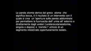 Gestione dell'urostomia