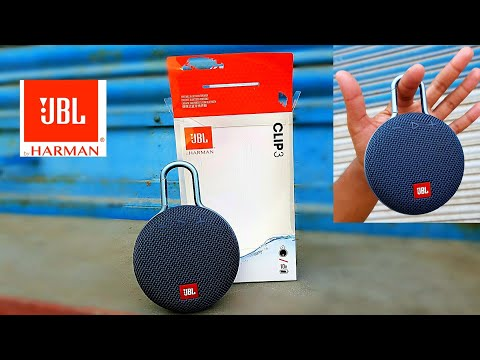 JBL CLIP 3 UNBOXING (BEST BUDGET WATERPROOF/8 HOURS BATTERY BACKUP BLUETOOTH SPEAKER) IN HINDI