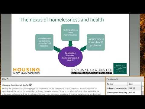 Webinar: Law Enforcement & Homelessness  Forging Fruitful Partnerships