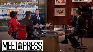 Full Panel: Impeachment Inquiry Formalized With Divided House Vote | Meet The Press | NBC News