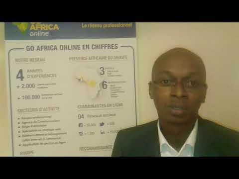 Tour de Stand Rencontres B2B  Africa France 2017.Go Africa online. Jeune Afrique. BME Prod