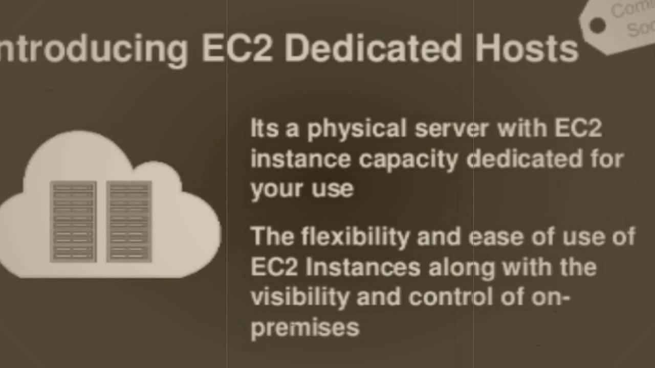 Amazon Ec2 Dedicated Server - YouTube