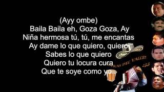 GOZA GOZA - Peter Manjarrés & Juancho de la Espriella (Letra)