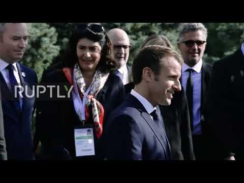 Armenia: Macron visits Genocide Memorial in Yerevan