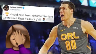 Aaron Gordon & Other NBA Stars' REACTION to the 2020 Dunk Contest Final Round | RIGGED |