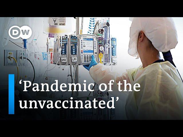 US moves increasingly toward vaccine mandates | DW News