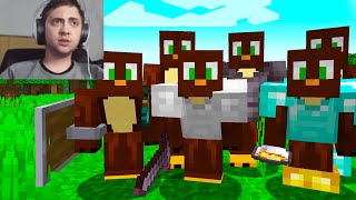 I made Clones of myself to Troll this Streamer LIVE on Minecraft...