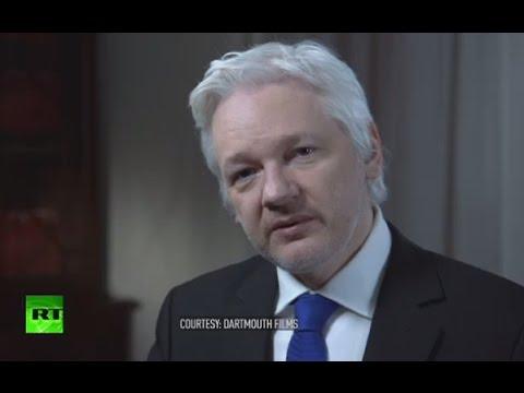 Secret World of US Election Julian Assange talks to John Pilger FULL INTERVIEW