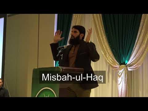 Misbah ul Haq addressing at SAF fundraising  in Chicago