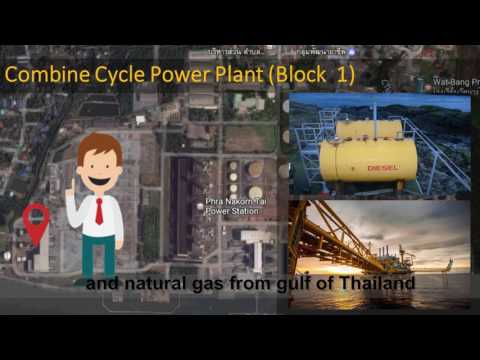 Fuel in south bangkok power plant