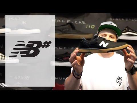 Chaussures de skate de New Balance Numeric NB# expliquées par Boutique Adrenaline