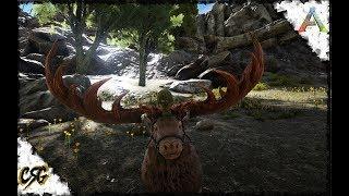 ARK: Survival Evolved - MEGALOCEROS TAME!!! S1 E23 (Ragnarok Map)