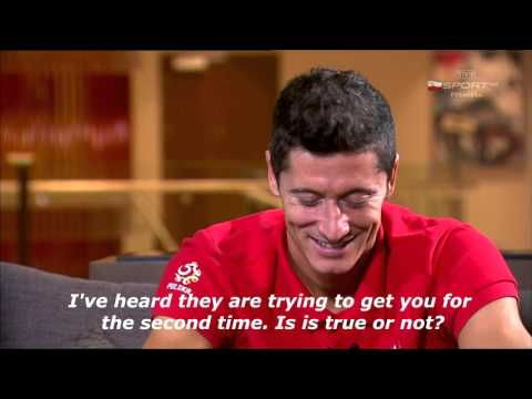 Robert Lewandowski about the transfer to Real Madrid (englis