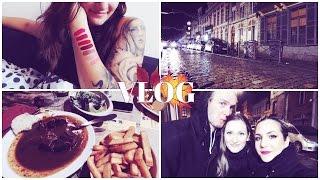 "VLOG ♡ ""JeffreeStar Swatches • Dinner • Going Back Home""   KateSalou"