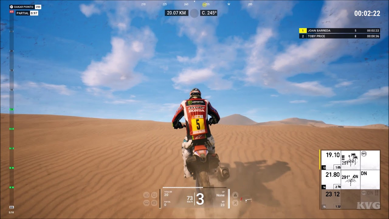 dakar 18 honda 450 rally gameplay pc hd 1080p60fps. Black Bedroom Furniture Sets. Home Design Ideas
