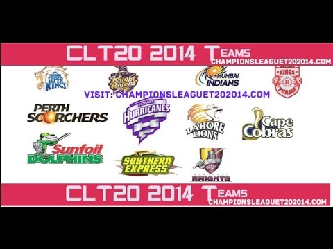 Champions League T20 2014 all Team Player List | CLT 2014