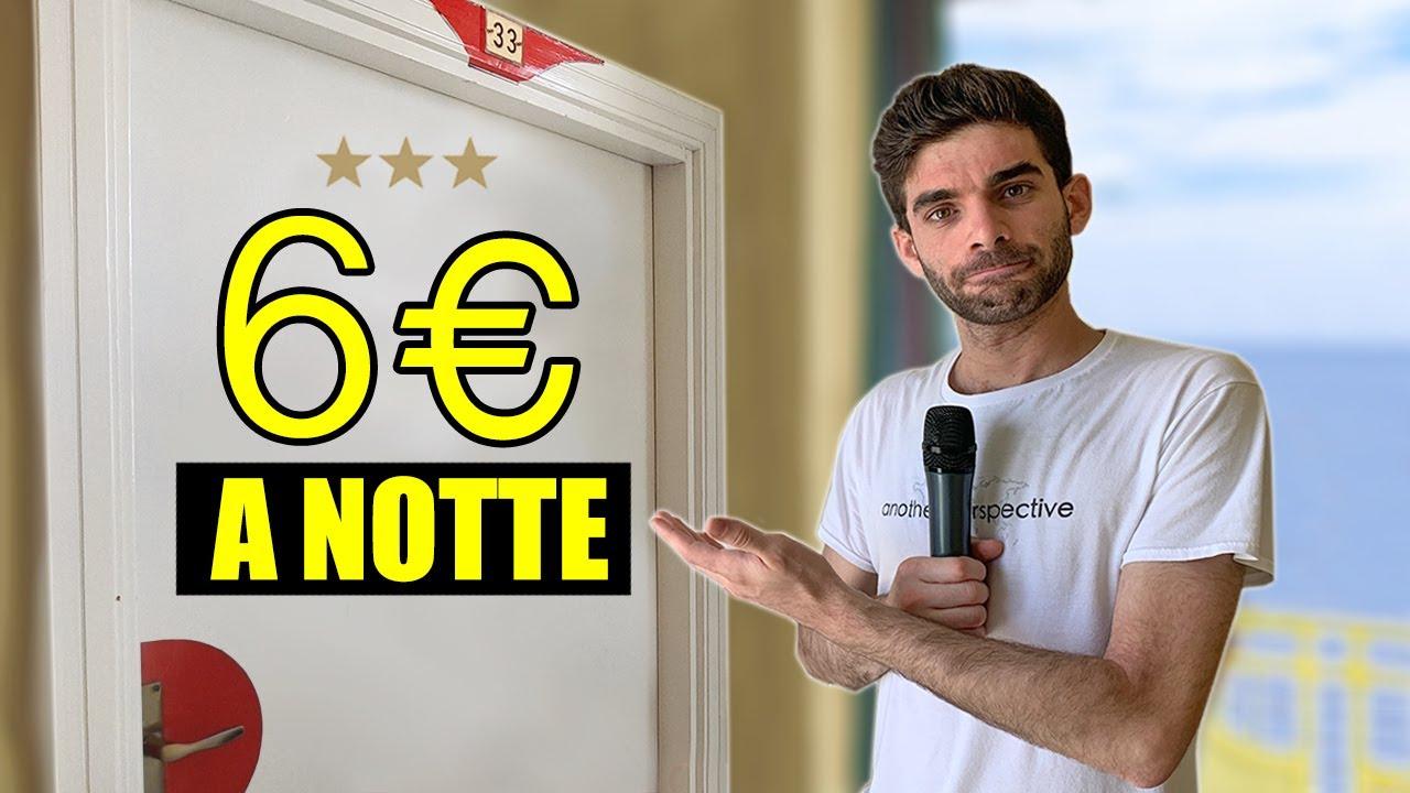 DOMANDE nell'HOTEL più ECONOMICO d'Italia - thepillow