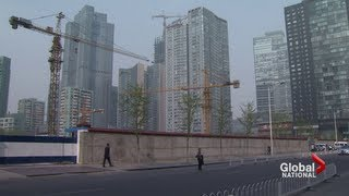 China's economy slows down