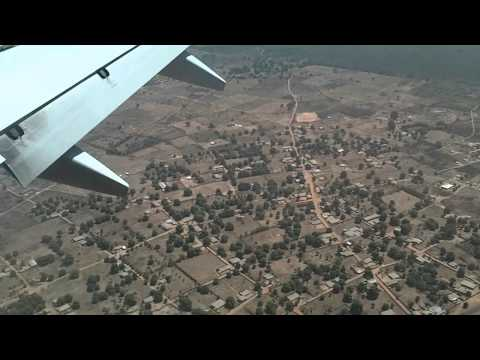 Gambia - landing at Banjul International Airport