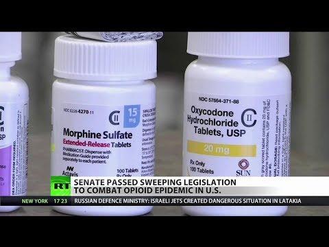Senate Passes Sweeping Opioid Legislation