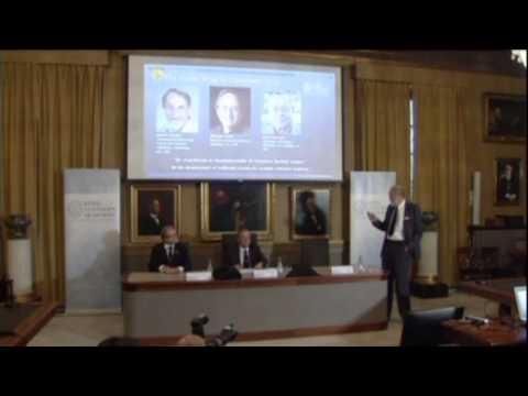 Nobel hoá học được trao cho người tìm ra hạt Giggs