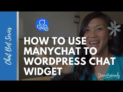 How To Add ManyChat To Wordpress Chat Widget