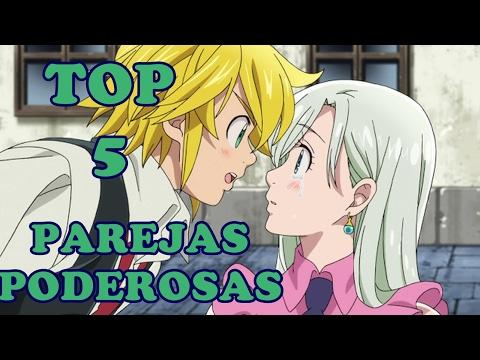 Top 5 Parejas Poderosas Del Anime
