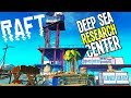 Raft: DEEP SEA CREATURE RESEARCH CENTER, HOW TO FIND UTOPIA? - Raft Game - Raft Gameplay