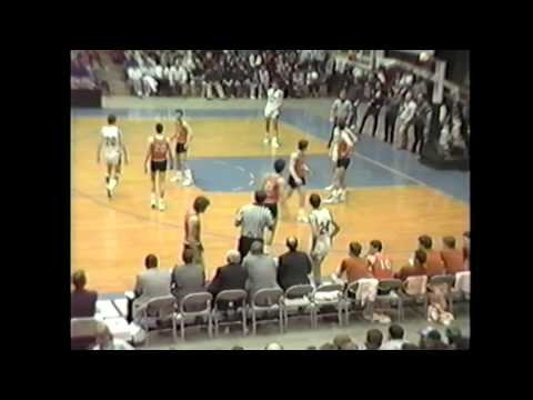 Mount View vs Rockland 1987 boys basketball Eastern Maine Class B Final