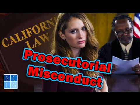 "What is ""Prosecutorial Misconduct""? Former D.A. explains"