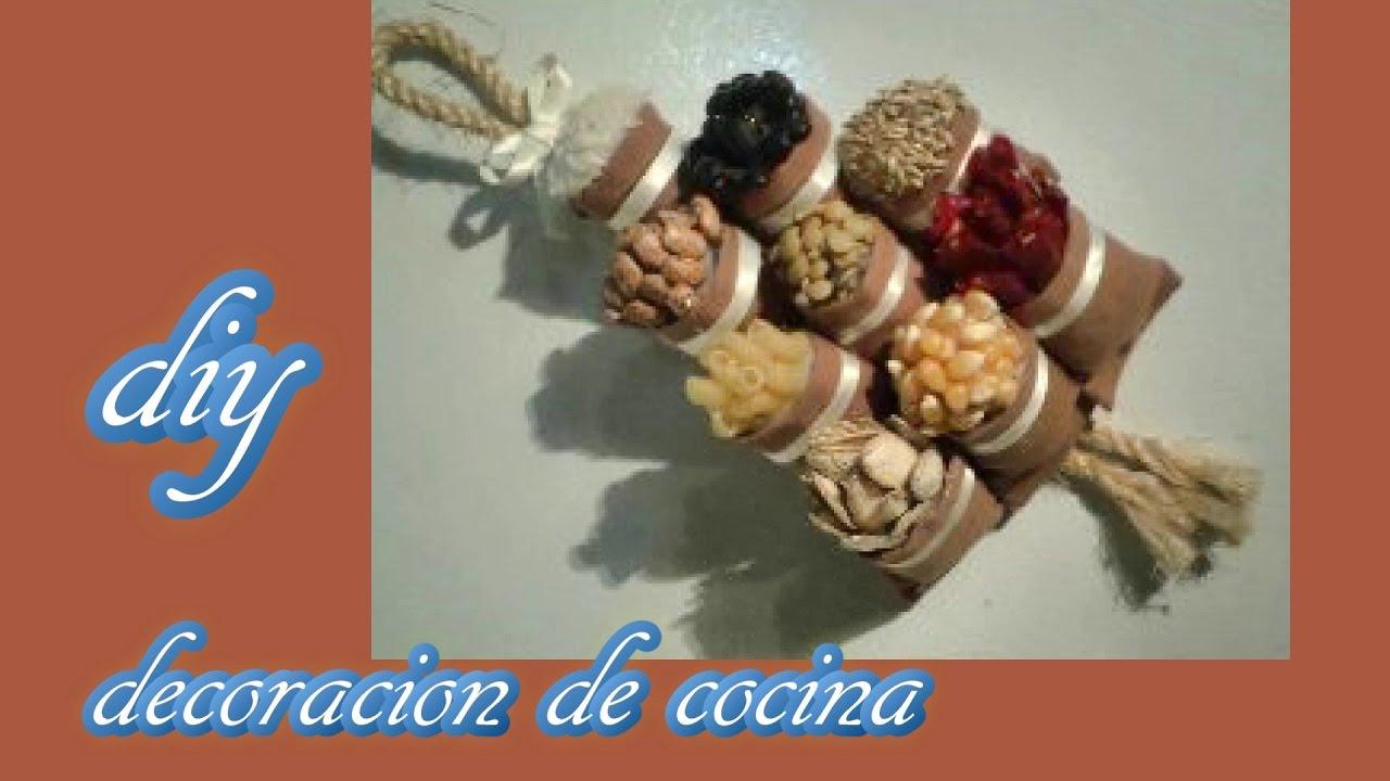 Como hacer una decoraci n de cocina o refrigerador diy for Como decorar una cocina