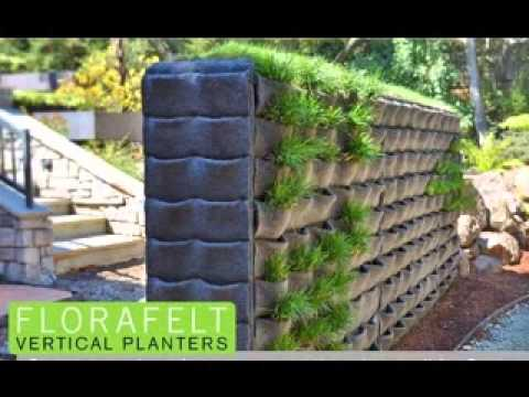 Creative Florafelt Vertical Garden Design Ideas - Youtube