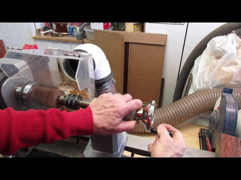 How I make shift knobs, same process was used for the figured walnut.